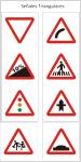 Señal tráfico Triangular