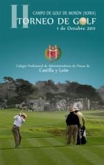 Patrocinador del II Torneo de Golf del Colegio de Administradores de Fincas de Castilla-León