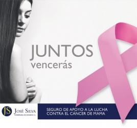 Innovador seguro de apoyo a la lucha contra el cáncer de mama