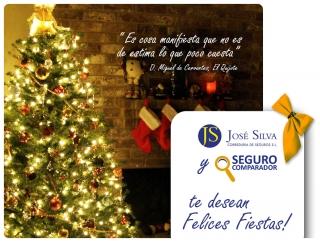 José Silva te desea Felices Fiestas