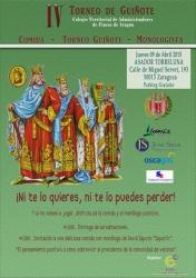 cartel IV Torneo de Guiñote