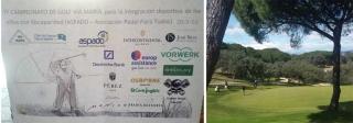 José Silva patrocina el IV Torneo de Golf para la integración deportiva de niños con discapacidad