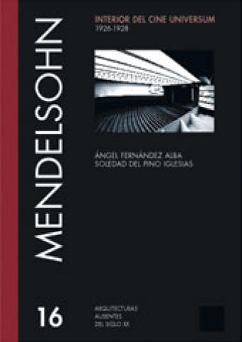 INTERIOR DEL CINE UNIVERSUM - ERICH MENDELSOHN