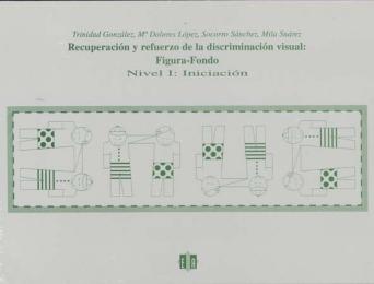 Recuperación y refuerzo de la discriminación visual: figura-fondo. Iniciación. Nivel 1