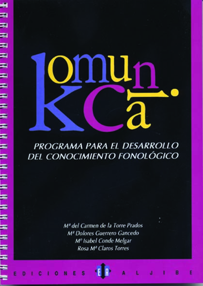 Komunica. Programa para el desarrollo del conocimiento fonológico