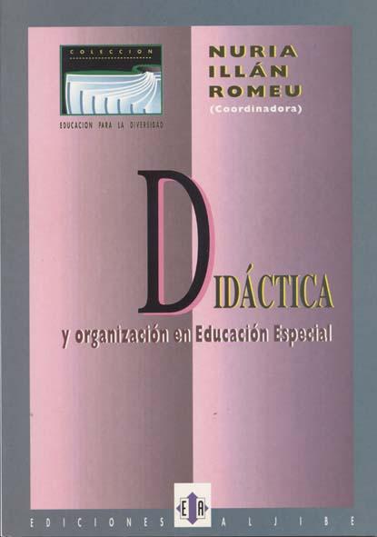 Didáctica y organización en Educación Especial