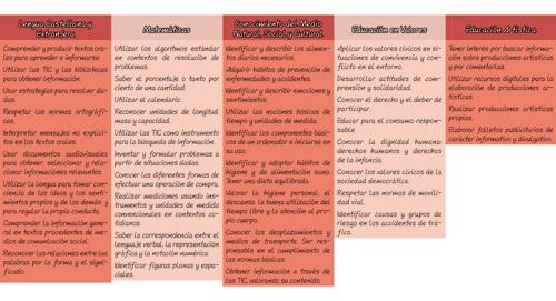 Trabajando las 8 competencias básicas. Cuaderno 4