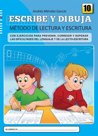 Escribe y dibuja. Cuaderno 10