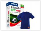 Panda Antivirus 2012 3 Licencias 4 Años + Camiseta...