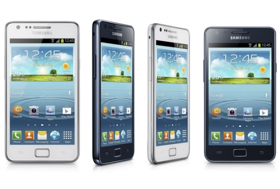 Samsung Galaxy S2 Plus i9105P Blanco/azul