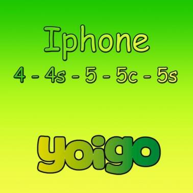Liberacion por imei iphone 4/4S/5/5C/5S/6/6 Plus de Yoigo PREMIUM