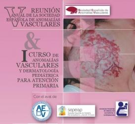 V Reunión Anual de Anomalías Vasculares y I Curso de Anomalías Vasculares en Dermatología Pediátrica para Atención Primaria