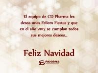 CD PHARMA les desea Feliz Navidad