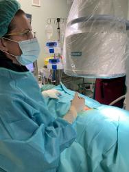 Fantástico caso de Tratamiento con DiscoGel ejecutado por la Dra. Eva Monzón.