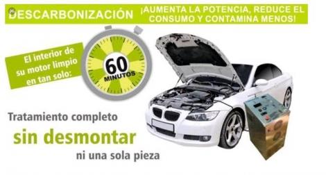 Descarbonizacion del motor