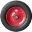 3508, neumáticos de carretilla, carretilla de mano, ruedas 3508 impinchable, ruedas macizas de carretilla de mano