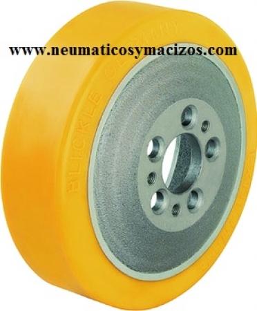 rueda poliuretano 230x70