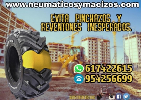 MACIZADO NEUMATICOS 12X16.5