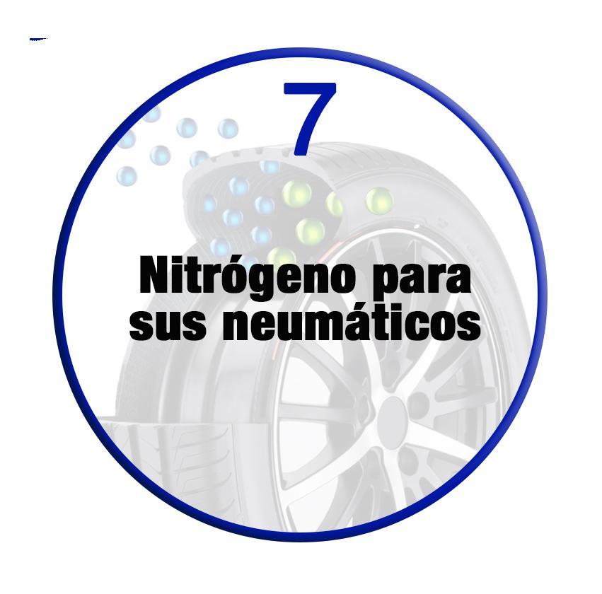 Nitrógeno para ruedas