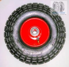 350x4, 300x4, 410x3.50x4, ruedas de carrillo de mano, ruedas