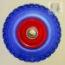 rueda maciza 300x4, 3.50x4, 4.10/3.50x4, rueda maciza de carretilla elevadora