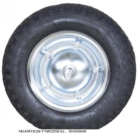 3508 ruedas de aire, ruedas 350x8, ruedas con llanta , ruedas de carrillo,
