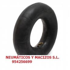 CÁMARA 400X19 VALVULA DE GOMA, 60019, coche de caballo, macizado de ruedas