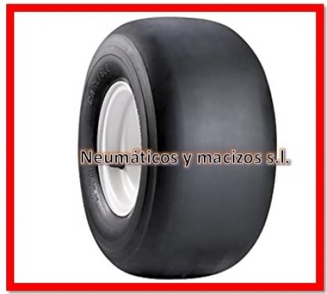 ruedas negras lisas de competición 10x4.50x5, 104505, ruedas lisas