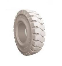23910 ruedas macizas superelasticas blancas para carretilla elevadora, ruedas grises