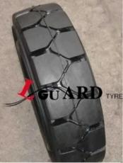 500x8 rueda superelastica para carretilla elevadora lguard
