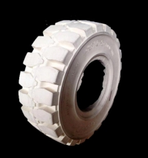 15X4.5X8 solidtyre blanco sit, 125758, ruedas macizas bancas