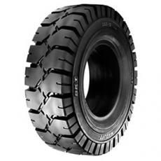 70012 macizo negro tn , rueda maciza para carretilla elevadora