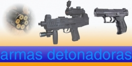 ARMAS DETONADORAS