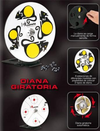 COMETA Automatic revolving target