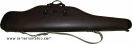 Funda Piel para Rifle con Visor 115 cm.