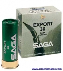 Cartuchos SAGA EXPORT 30 grs