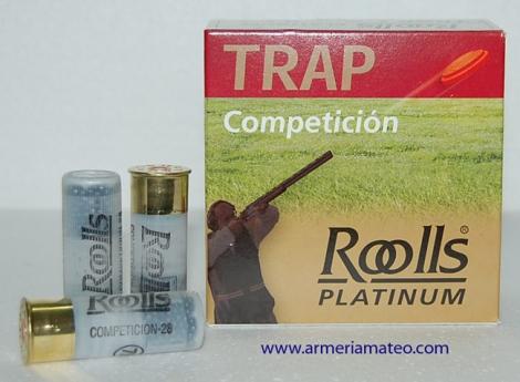 Cartuchos Roolls Platinum