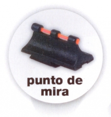 PUNTO MIRA FIBRA OPTICA GAMO (PACK 2 UDS)