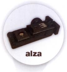 ALZA MICROMETRICA CON FIBRA OPTICA