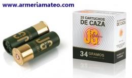 Cartuchos J&G Caza 34