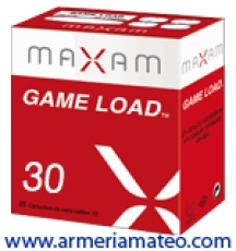 CARTUCHOS MAXAM GAME LOAD 30 GRS