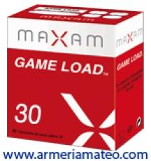 CARTUCHOS MAXAM GAME LOAD 30 GRS