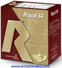 CARTUCHOS ROYAL 34 GRS