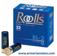 CARTUCHOS ROOLLS RL-2 32 GRS.