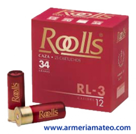 Cartuchos Roolls 34