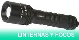LINTERNAS Y FOCOS