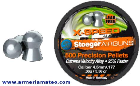 BALINES STOEGER X-SPEED 4.5