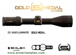 Visor SHILBA GOLD MEDAL 2.5-10X50 IRG 4