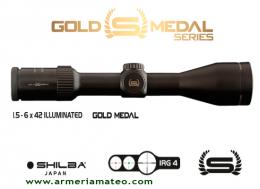 Visor SHILBA GOLD MEDAL 1.5-6X42 IRG 4