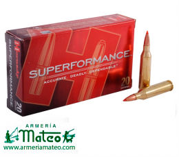 MUNICION HORNADY SUPERFORMANCE SST 7-08 RM 139 GR